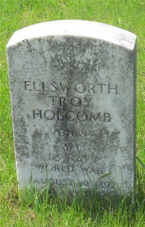 HOLCOMB, ELLSWORTH TROY - Franklin County, Ohio | ELLSWORTH TROY HOLCOMB - Ohio Gravestone Photos