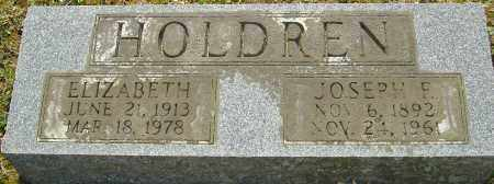 HOLDREN, JOSEPH F - Franklin County, Ohio | JOSEPH F HOLDREN - Ohio Gravestone Photos