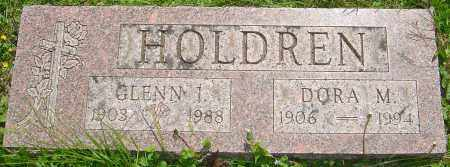 HOLDREN, GLENN I - Franklin County, Ohio | GLENN I HOLDREN - Ohio Gravestone Photos