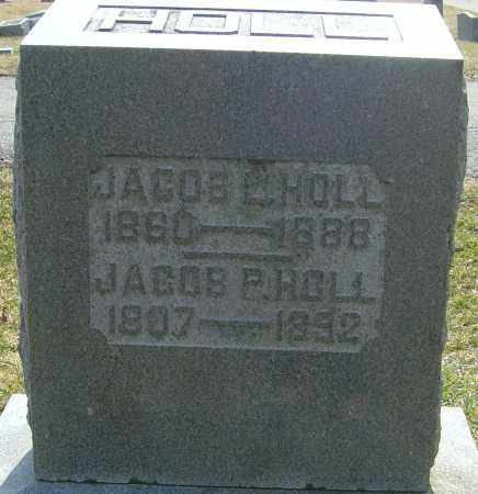 HOLL, JACOB L - Franklin County, Ohio | JACOB L HOLL - Ohio Gravestone Photos