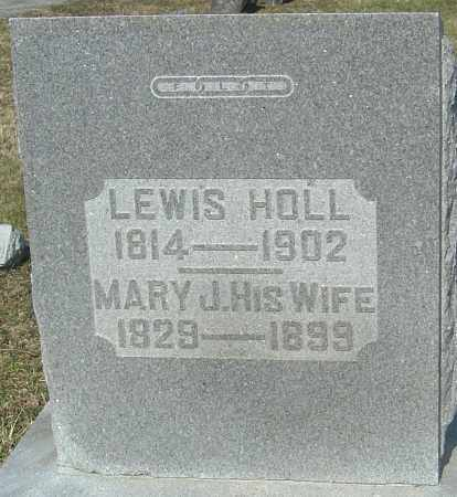 HOLL, MARY J - Franklin County, Ohio | MARY J HOLL - Ohio Gravestone Photos