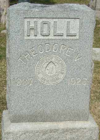 HOLL, THEODORE V - Franklin County, Ohio | THEODORE V HOLL - Ohio Gravestone Photos