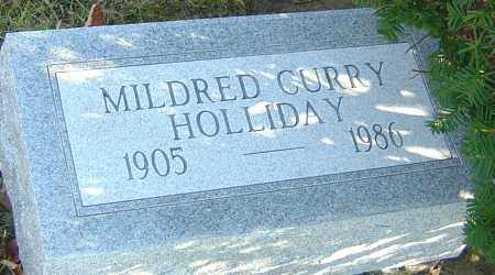 CURRY HOLLIDAY, MILDRED - Franklin County, Ohio | MILDRED CURRY HOLLIDAY - Ohio Gravestone Photos