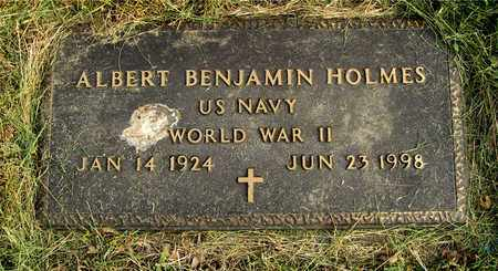 HOLMES, ALBERT BENJAMIN - Franklin County, Ohio | ALBERT BENJAMIN HOLMES - Ohio Gravestone Photos