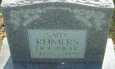 HOLSINGER, SALLY - Franklin County, Ohio | SALLY HOLSINGER - Ohio Gravestone Photos