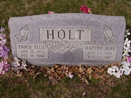 HOLT, MARTHA JANE - Franklin County, Ohio | MARTHA JANE HOLT - Ohio Gravestone Photos
