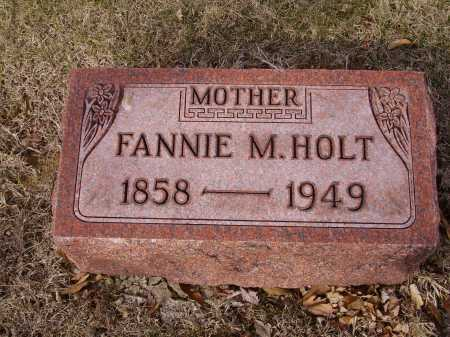 HOLT, FANNIE M. - Franklin County, Ohio | FANNIE M. HOLT - Ohio Gravestone Photos