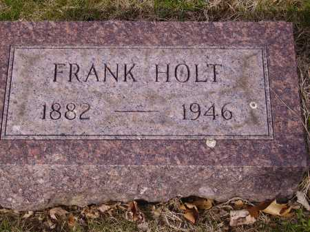 HOLT, FRANK - Franklin County, Ohio | FRANK HOLT - Ohio Gravestone Photos