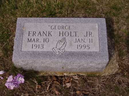 "HOLT, FRANK ""GEORGE"" - Franklin County, Ohio 