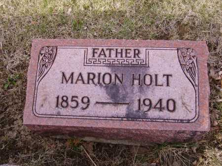 HOLT, MARION - Franklin County, Ohio | MARION HOLT - Ohio Gravestone Photos