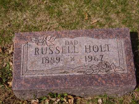 HOLT, RUSSELL - Franklin County, Ohio | RUSSELL HOLT - Ohio Gravestone Photos