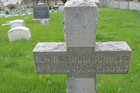 HOLTSCHULTE, ALWINA F. - Franklin County, Ohio | ALWINA F. HOLTSCHULTE - Ohio Gravestone Photos