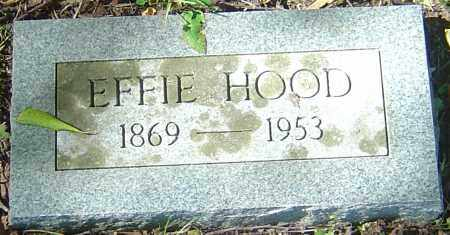 HOWELL HOOD, EFFIE - Franklin County, Ohio | EFFIE HOWELL HOOD - Ohio Gravestone Photos