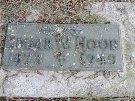HOOD, EDGAR W. - Franklin County, Ohio | EDGAR W. HOOD - Ohio Gravestone Photos
