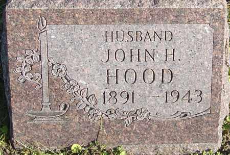HOOD, JOHN HENRY - Franklin County, Ohio | JOHN HENRY HOOD - Ohio Gravestone Photos