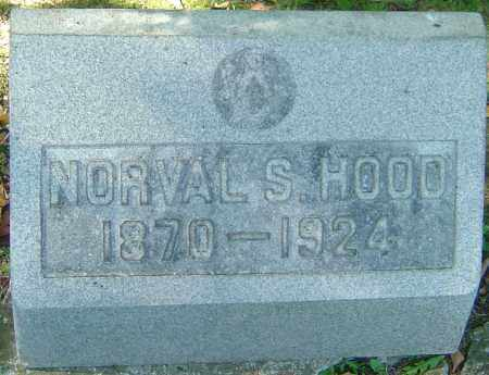 HOOD, NORVAL S - Franklin County, Ohio | NORVAL S HOOD - Ohio Gravestone Photos