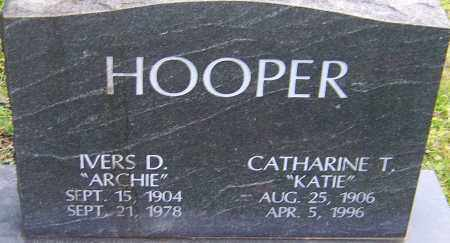 HOOPER, CATHARINE - Franklin County, Ohio | CATHARINE HOOPER - Ohio Gravestone Photos