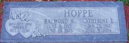 HOPPE, RAYMOND - Franklin County, Ohio | RAYMOND HOPPE - Ohio Gravestone Photos