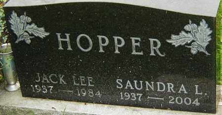 HOPPER, JACK - Franklin County, Ohio | JACK HOPPER - Ohio Gravestone Photos