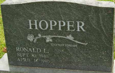 HOPPER, RONALD - Franklin County, Ohio | RONALD HOPPER - Ohio Gravestone Photos