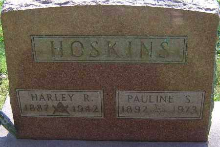HOSKINS, HARLEY RAY - Franklin County, Ohio | HARLEY RAY HOSKINS - Ohio Gravestone Photos