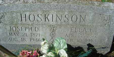EMERY HOSKINSON, ELLA E - Franklin County, Ohio | ELLA E EMERY HOSKINSON - Ohio Gravestone Photos