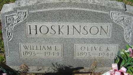 HOSKINSON, WILLIAM EMERY - Franklin County, Ohio | WILLIAM EMERY HOSKINSON - Ohio Gravestone Photos