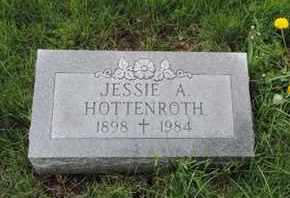 HOTTENROTH, JESSIE A. - Franklin County, Ohio | JESSIE A. HOTTENROTH - Ohio Gravestone Photos