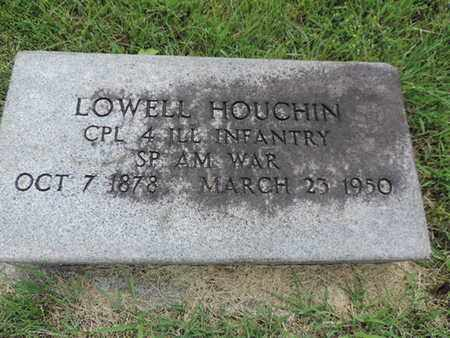 HOUCHIN, LOWELL - Franklin County, Ohio | LOWELL HOUCHIN - Ohio Gravestone Photos