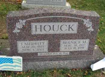 HOUCK, BERNICE M. - Franklin County, Ohio | BERNICE M. HOUCK - Ohio Gravestone Photos