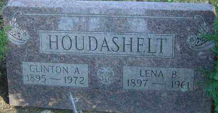 HOUDASHELT, LENA B - Franklin County, Ohio | LENA B HOUDASHELT - Ohio Gravestone Photos
