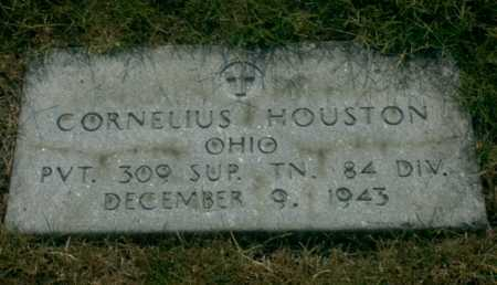 HOUSTON, CORNELIUS - Franklin County, Ohio | CORNELIUS HOUSTON - Ohio Gravestone Photos