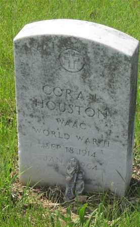 HOUSTON, CORA L. - Franklin County, Ohio | CORA L. HOUSTON - Ohio Gravestone Photos