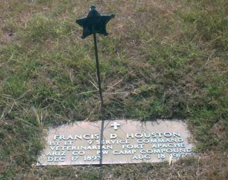 "HOUSTON, FRANCIS D  ""DOC"" - Franklin County, Ohio | FRANCIS D  ""DOC"" HOUSTON - Ohio Gravestone Photos"