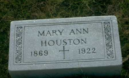HOUSTON, MARY ANN - Franklin County, Ohio | MARY ANN HOUSTON - Ohio Gravestone Photos