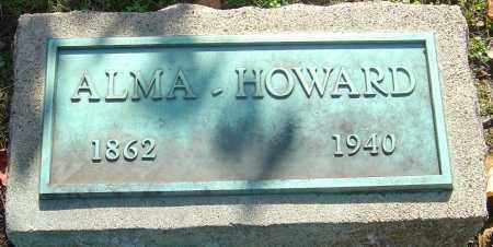 CORWIN HOWARD, ALMA WAITE - Franklin County, Ohio | ALMA WAITE CORWIN HOWARD - Ohio Gravestone Photos