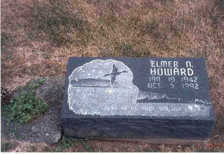 HOWARD, ELMER N. - Franklin County, Ohio | ELMER N. HOWARD - Ohio Gravestone Photos