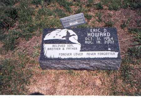 HOWARD, ERIC D. - Franklin County, Ohio | ERIC D. HOWARD - Ohio Gravestone Photos