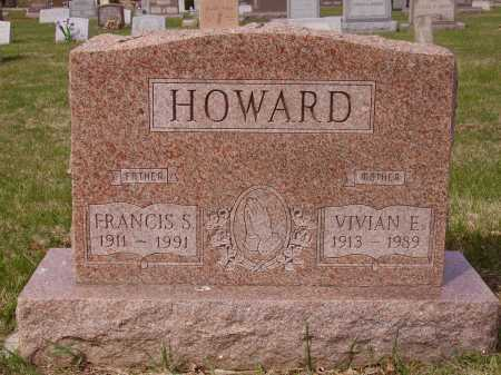 HOWARD, FRANCIS S. - Franklin County, Ohio | FRANCIS S. HOWARD - Ohio Gravestone Photos