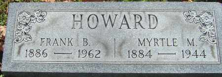 HOWARD, FRANK B - Franklin County, Ohio | FRANK B HOWARD - Ohio Gravestone Photos