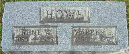 HOWE, IRENE - Franklin County, Ohio | IRENE HOWE - Ohio Gravestone Photos