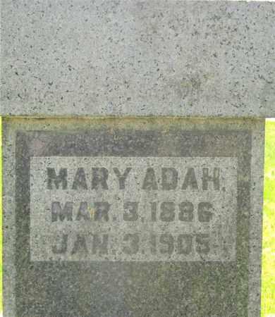 HOWELL, MARY ADAH - Franklin County, Ohio | MARY ADAH HOWELL - Ohio Gravestone Photos