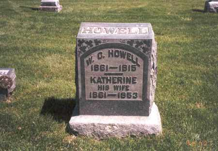HOWELL, W. C. - Franklin County, Ohio | W. C. HOWELL - Ohio Gravestone Photos