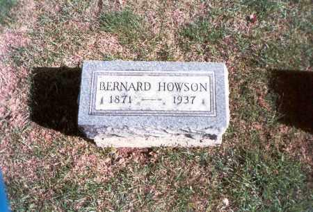 HOWSON, BERNARD - Franklin County, Ohio | BERNARD HOWSON - Ohio Gravestone Photos