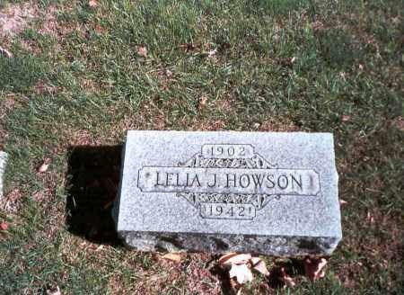 HOWSON, LELIA J. - Franklin County, Ohio | LELIA J. HOWSON - Ohio Gravestone Photos