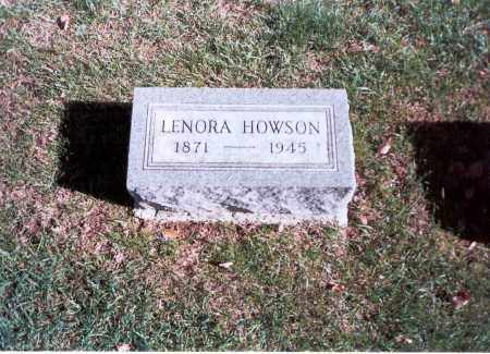 HOWSON, LENORA - Franklin County, Ohio | LENORA HOWSON - Ohio Gravestone Photos