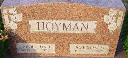 HOYMAN, JOSEPHINE - Franklin County, Ohio | JOSEPHINE HOYMAN - Ohio Gravestone Photos