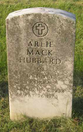 HUBBARD, ARLIE MACK - Franklin County, Ohio | ARLIE MACK HUBBARD - Ohio Gravestone Photos