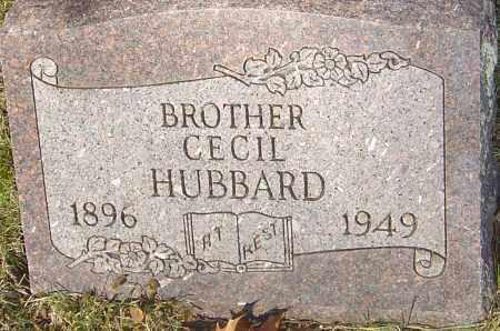 HUBBARD, CECIL - Franklin County, Ohio | CECIL HUBBARD - Ohio Gravestone Photos