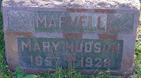 HUDSON, MARY - Franklin County, Ohio | MARY HUDSON - Ohio Gravestone Photos